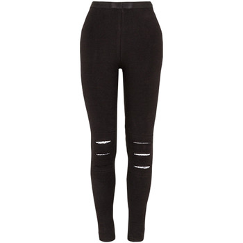 textil Pige Leggings Losan 024-6000AL Sort