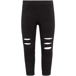 textil Pige Leggings Losan 026-6008AL Sort