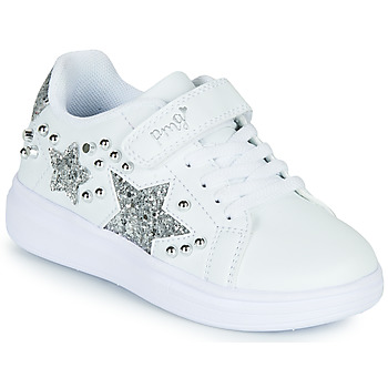 Sko Pige Lave sneakers Primigi NOLLA Hvid / Sølv