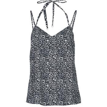 textil Dame Toppe / T-shirts uden ærmer Ikks BS11015-02 Sort