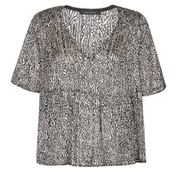 textil Dame Toppe / Bluser Ikks BS11135-02 Grå