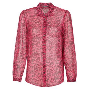 textil Dame Skjorter / Skjortebluser Ikks BS12155-38 Hindbær