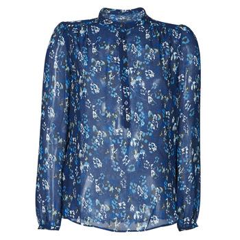 textil Dame Skjorter / Skjortebluser Ikks BS13175-49 Marineblå