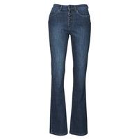 textil Dame Bootcut jeans Ikks BS29135-45 Nat / Blå