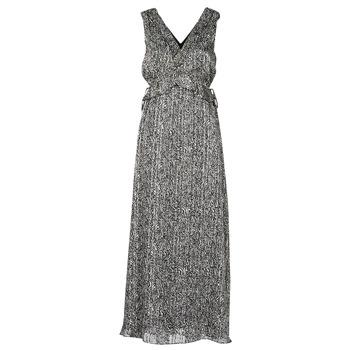 textil Dame Lange kjoler Ikks BS30265-02 Sort