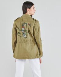 textil Dame Jakker / Blazere Ikks BS41045-55 Grøn / Stillehavsblåt