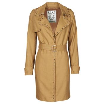textil Dame Trenchcoats Ikks BS42025-63 Hasselnød