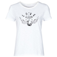 textil Dame T-shirts m. korte ærmer Ikks BS10185-11 Beige