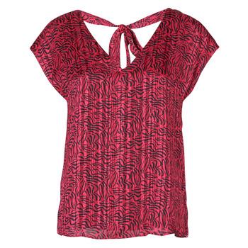 textil Dame Toppe / Bluser Ikks BS11355-38 Hindbær