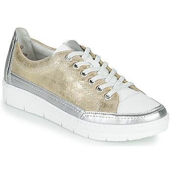 Sko Dame Lave sneakers Remonte Dorndorf PHILLA Guld / Sølv