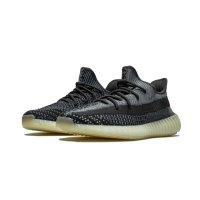 Sko Lave sneakers adidas Originals Yeezy Boost 350 V2 Carbon Carbon/Carbon-Carbon