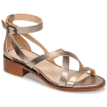 Sko Dame Sandaler Casual Attitude COUTIL Bronze