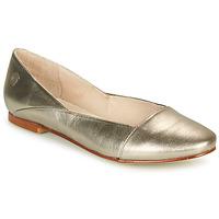 Sko Dame Ballerinaer Casual Attitude TOBALO Bronze