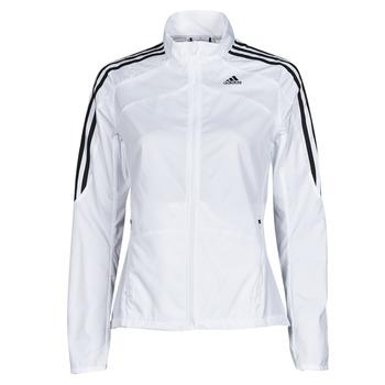 textil Dame Sportsjakker adidas Performance MARATHON JKT W Hvid