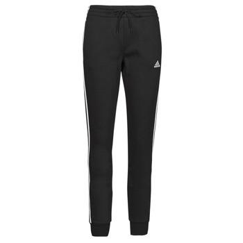 textil Dame Træningsbukser adidas Performance W 3S FL C PT Sort