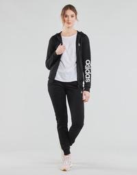 textil Dame Træningsdragter adidas Performance W LIN FT TS Sort