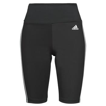 textil Dame Leggings adidas Performance W 3S SH TIG Sort