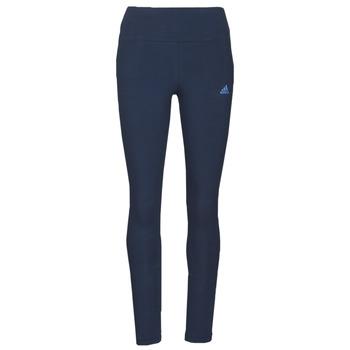 textil Dame Leggings adidas Performance W LIN LEG Blå