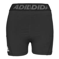 textil Dame Shorts adidas Performance TF SHRT 3 BAR T Sort