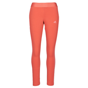 textil Dame Leggings adidas Performance W 3S LEG Rød