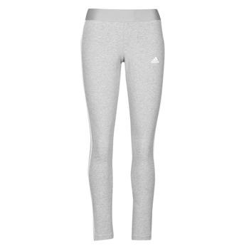 textil Dame Leggings adidas Performance W 3S LEG Grå