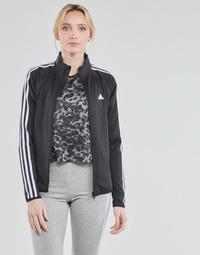 textil Dame Sportsjakker adidas Performance W 3S TJ Sort