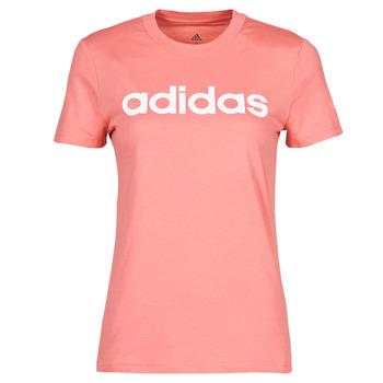 textil Dame T-shirts m. korte ærmer adidas Performance W LIN T Pink