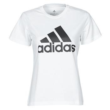 textil Dame T-shirts m. korte ærmer adidas Performance W BL T Hvid