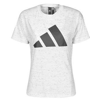 textil Dame T-shirts m. korte ærmer adidas Performance W WIN 2.0 TEE Hvid