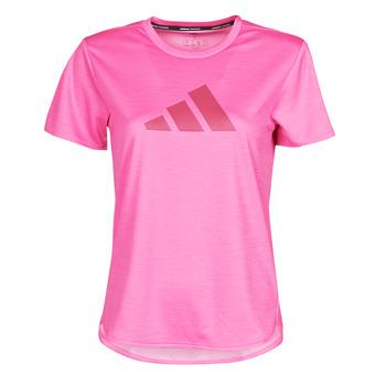 textil Dame T-shirts m. korte ærmer adidas Performance BOS LOGO TEE Pink