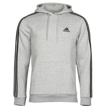 textil Herre Sweatshirts adidas Performance M 3S FL HD Grå