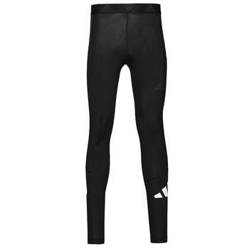textil Herre Leggings adidas Performance TF 3 BAR LT Sort