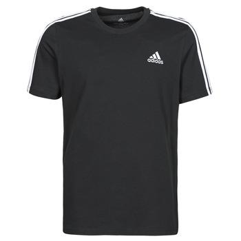 textil Herre T-shirts m. korte ærmer adidas Performance M 3S SJ T Sort