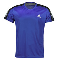 textil Herre T-shirts m. korte ærmer adidas Performance OWN THE RUN TEE Blå