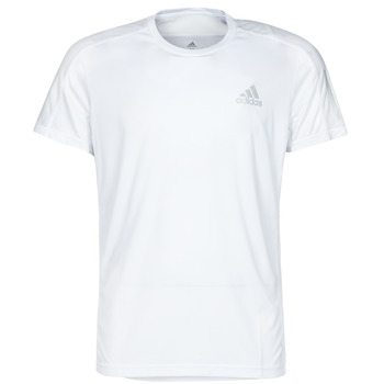 textil Herre T-shirts m. korte ærmer adidas Performance OWN THE RUN TEE Hvid
