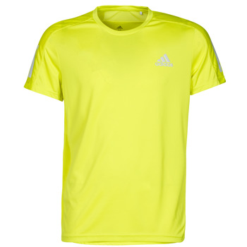 textil Herre T-shirts m. korte ærmer adidas Performance OWN THE RUN TEE Gul