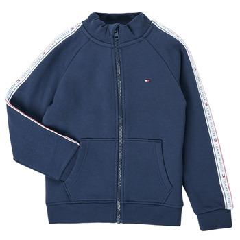 textil Dreng Sweatshirts Tommy Hilfiger  Marineblå