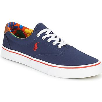 Sko Herre Lave sneakers Polo Ralph Lauren THORTON-SNEAKERS-VULC Marineblå