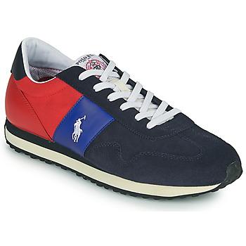 Sko Herre Lave sneakers Polo Ralph Lauren TRAIN 85-SNEAKERS-ATHLETIC SHOE Marineblå / Rød
