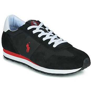 Sko Herre Lave sneakers Polo Ralph Lauren TRAIN 85-SNEAKERS-ATHLETIC SHOE Sort / Rød