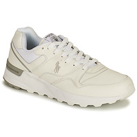 Sko Herre Lave sneakers Polo Ralph Lauren TRCKSTR PONY-SNEAKERS-ATHLETIC SHOE Hvid