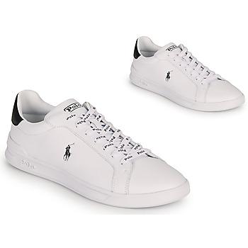 Sko Lave sneakers Polo Ralph Lauren HRT CT II-SNEAKERS-ATHLETIC SHOE Hvid / Sort