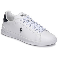 Sko Lave sneakers Polo Ralph Lauren HRT CT II-SNEAKERS-ATHLETIC SHOE Hvid / Marineblå