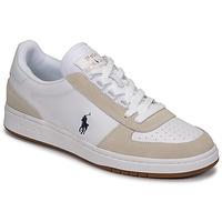 Sko Lave sneakers Polo Ralph Lauren POLO CRT PP-SNEAKERS-ATHLETIC SHOE Hvid