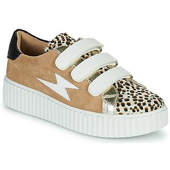 Sko Dame Lave sneakers Vanessa Wu BK2206LP Beige / Leopard