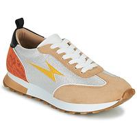 Sko Dame Lave sneakers Vanessa Wu BK2268BG Beige / Gul / Orange