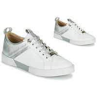 Sko Dame Lave sneakers JB Martin GELATO Hvid / Sølv