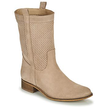 Sko Dame Chikke støvler Betty London ONEVAR Beige