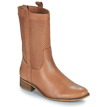 Sko Dame Chikke støvler Betty London ORYPE Cognac