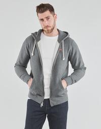 textil Herre Sweatshirts Levi's NEW ORIGINAL ZIP UP Grå